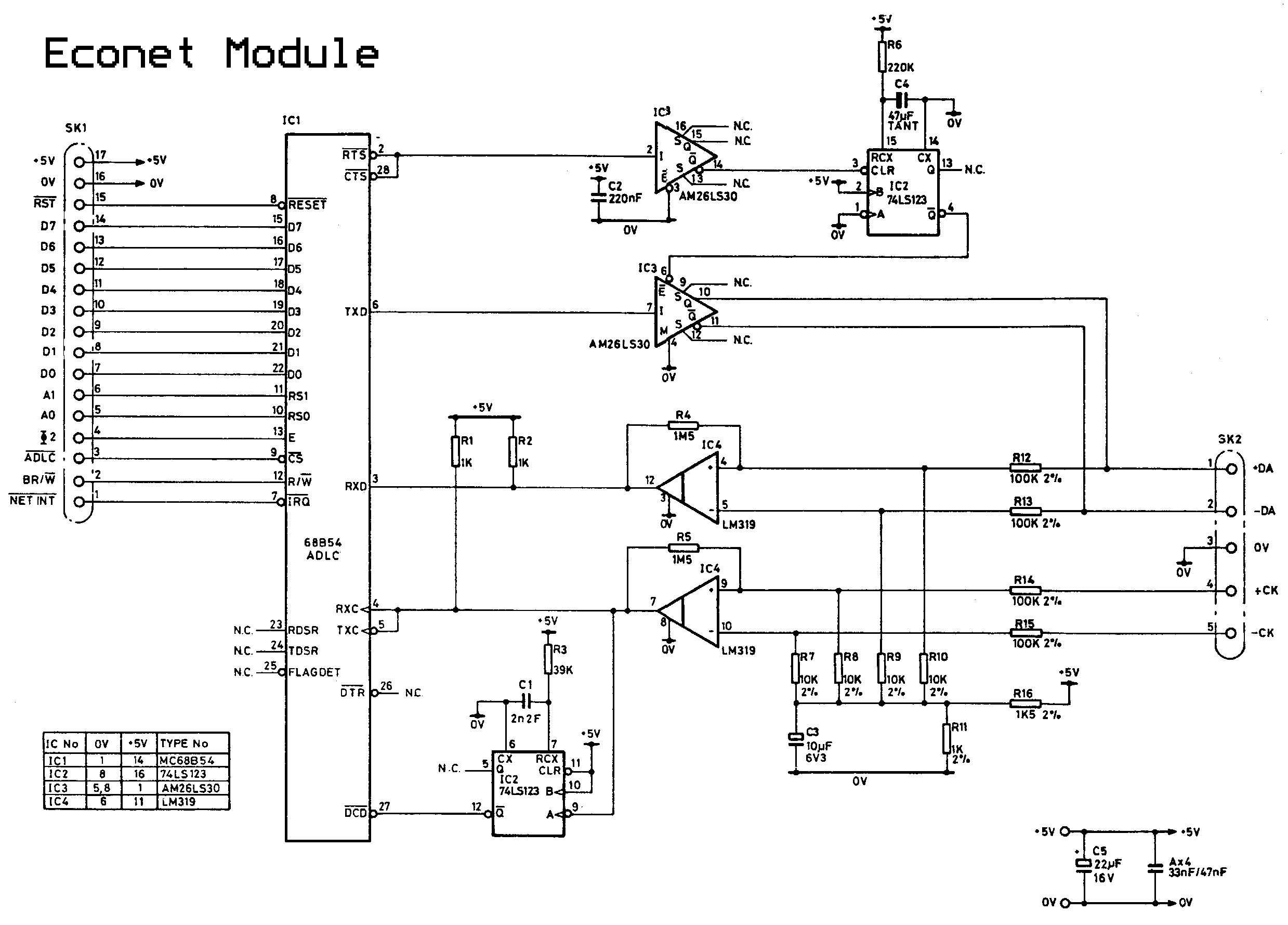 BBC Econet circuit diagrams wiring diagram for ecobee at readyjetset.co